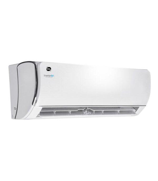 PEL Inverter Split AC 12K FIT Chrome Heat & Cool 1.0 Ton